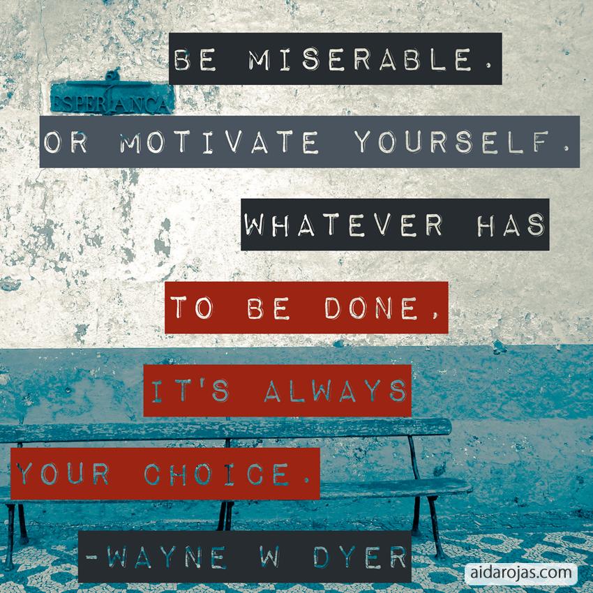 Be Miserable B