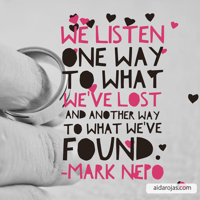 Listen Lost Found