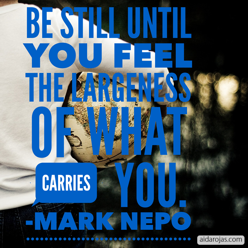 What Carries You