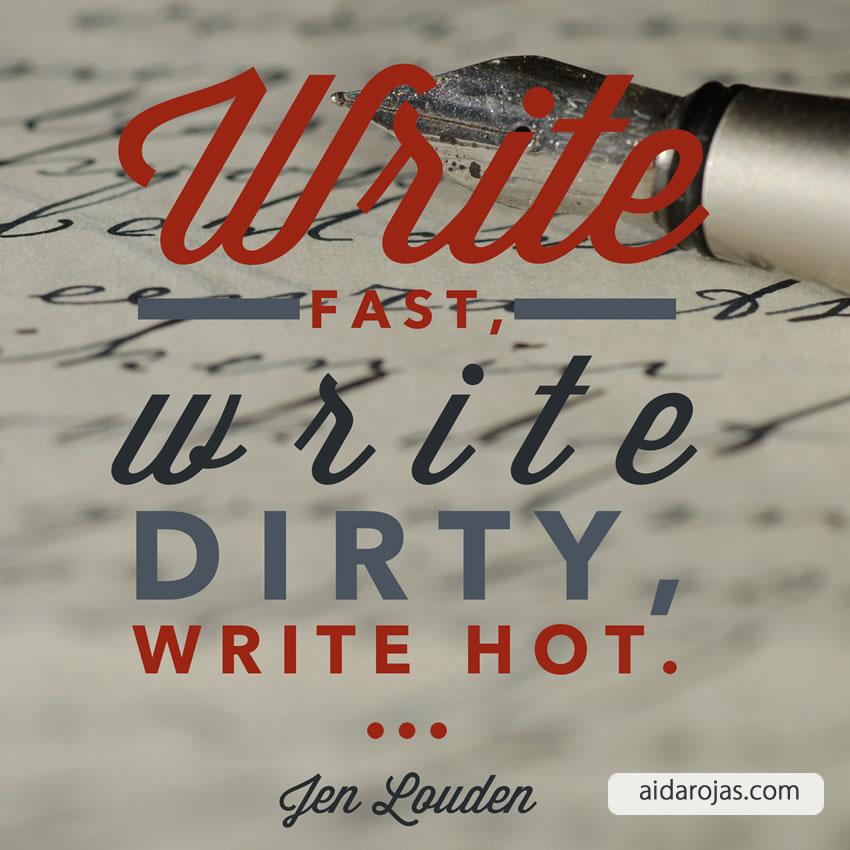 Write Dirty