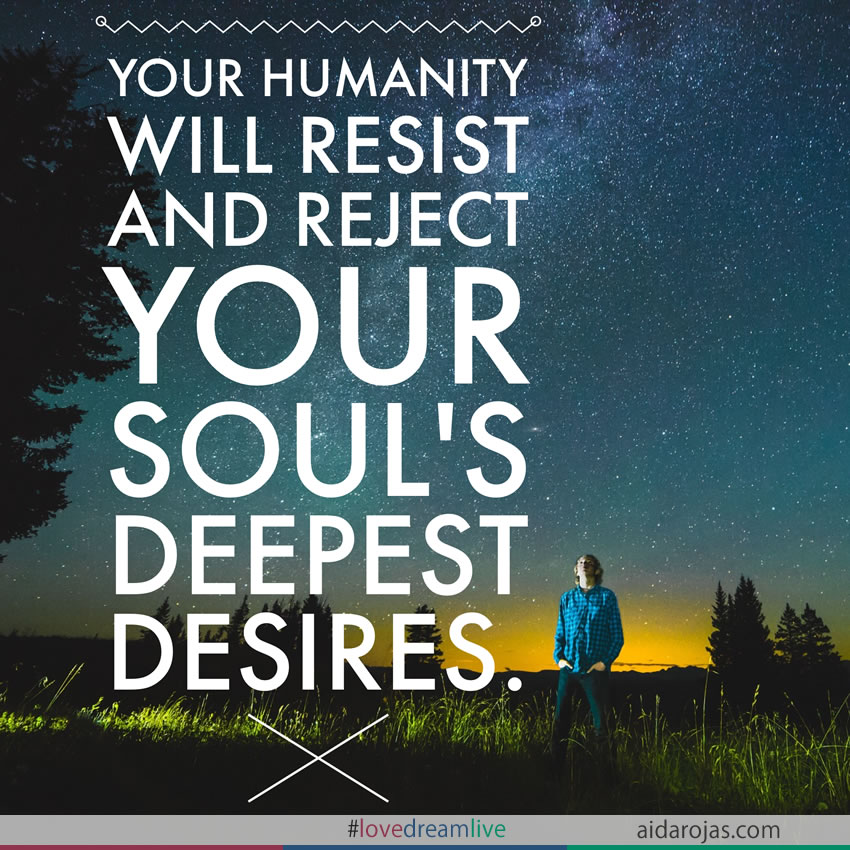 humanity resists desires