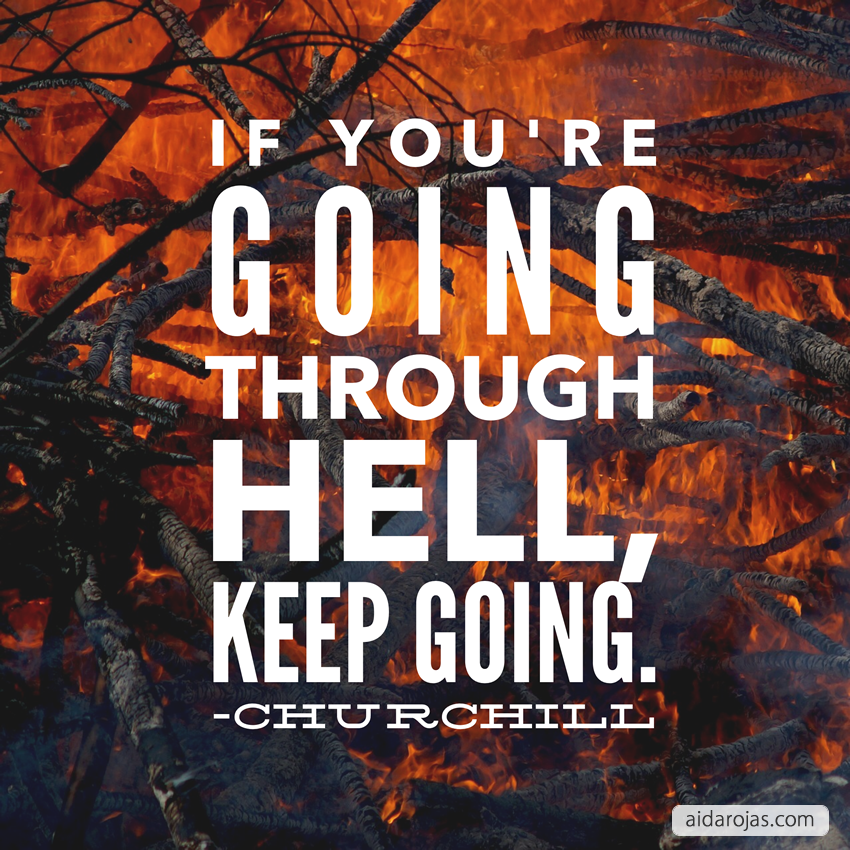 keep-going-through-hell