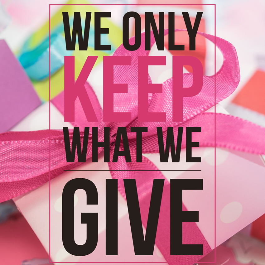 keep what give